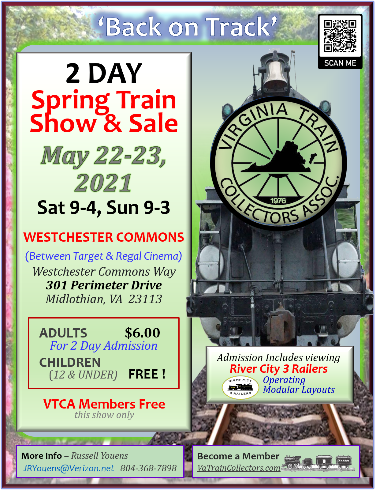 2 DAY Spring Train Show