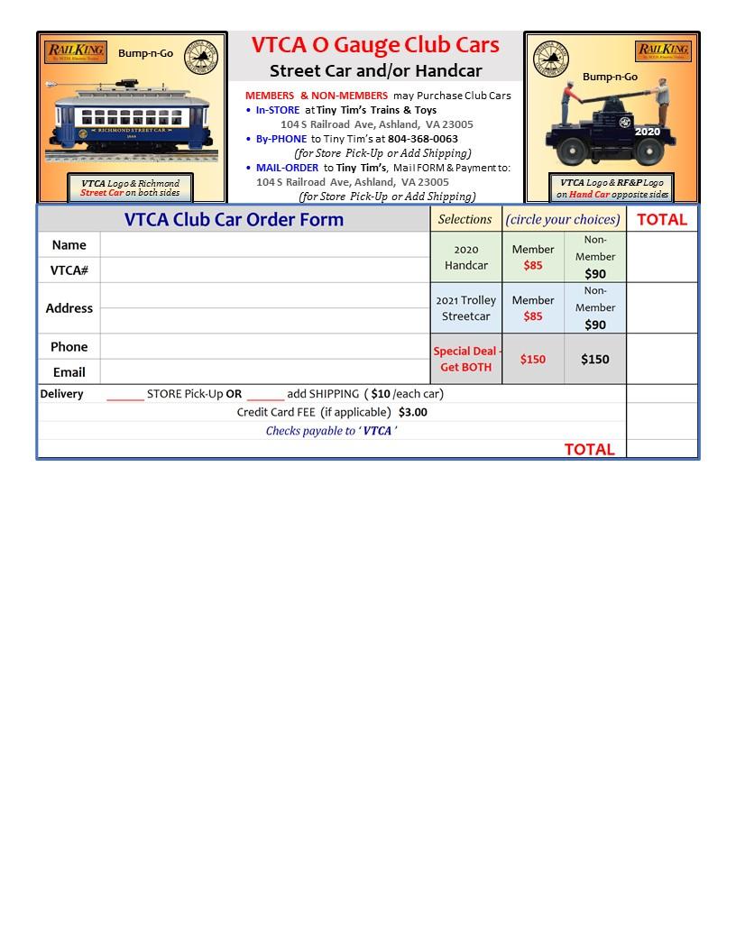 VTC Club Cars for Sale
